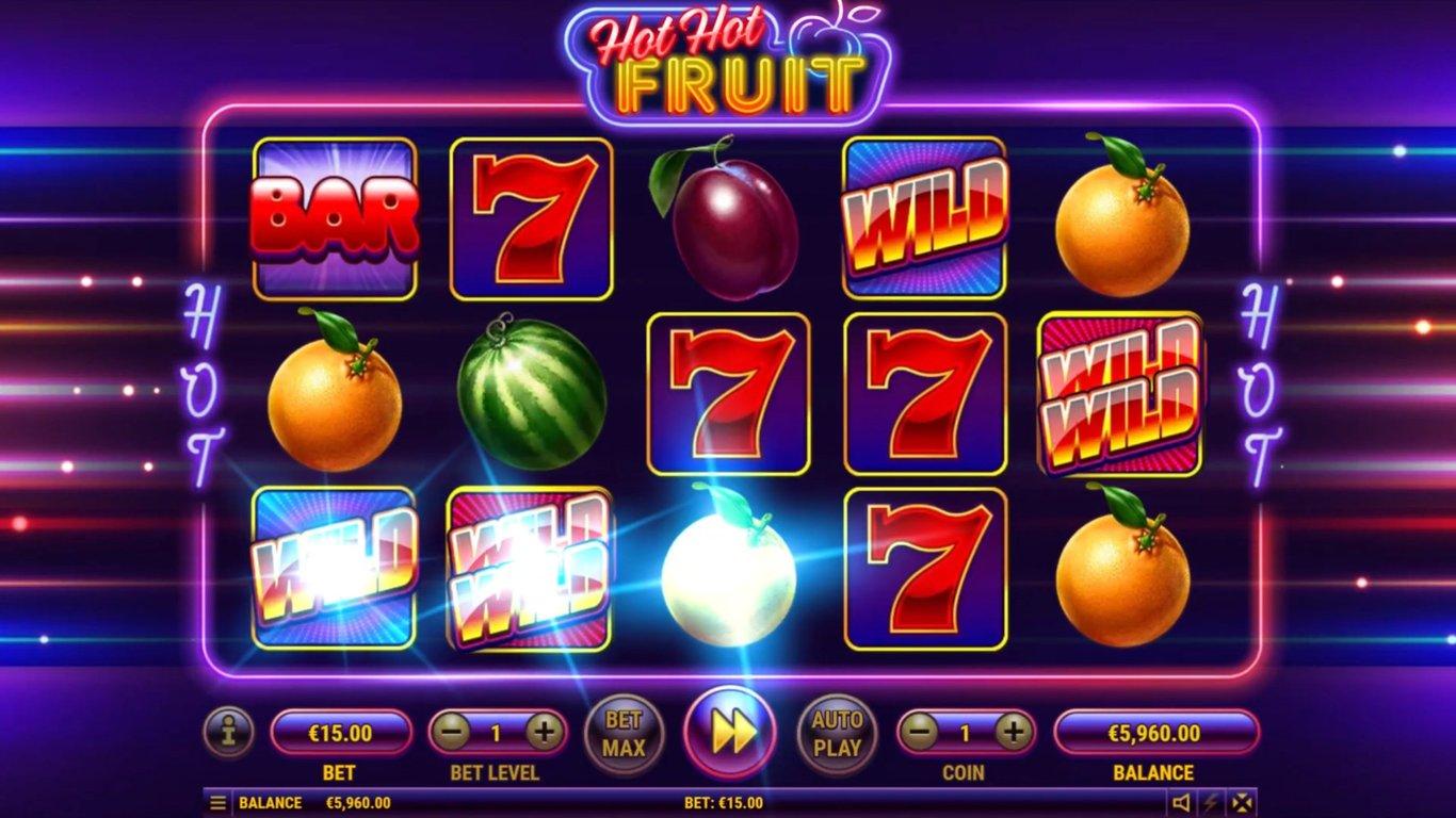 Habanero Announces the Hot Hot Fruit Slot - GamblersNews