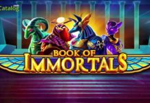 iSoftBet Launches Book of Immortals Slot