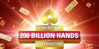 Pokerstars Deals 200 Billionth Hand of Poker