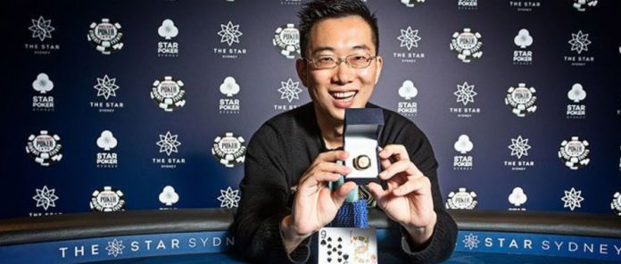 2019 WSOPc Sydney: Karamalikis Wins the Star Sydney High Roller & Steven Zhou Claims the Main Event