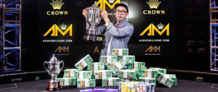 Vincent Wan Takes Down 2020 Aussie Millions Main Event