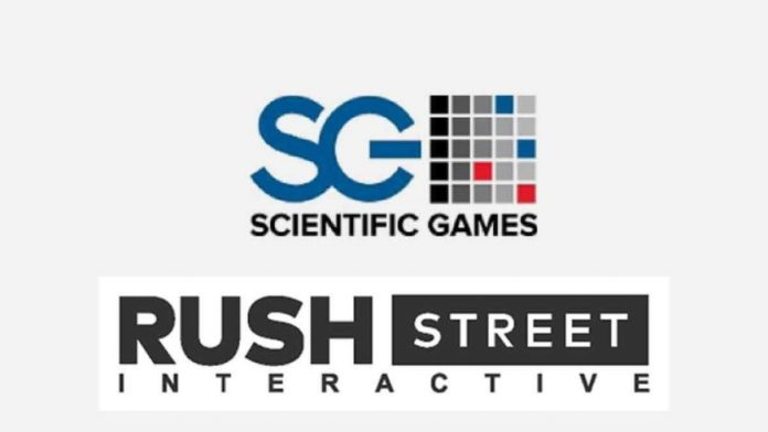 Rush Street Interactive Partnering with Scientific Games Corporation