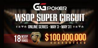 World Series of Poker Super Circuit Online Series Kicking Off at GGPoker Network