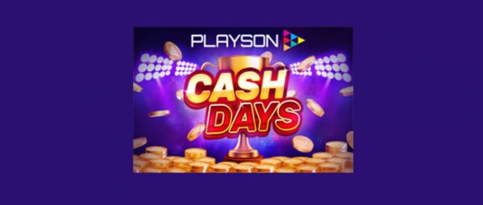 Playson Launches CashDays Tournaments Featuring Big Prize Pots and Most Iconic Games