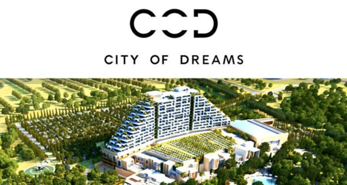 Construction Work on City of Dreams Mediterranean by Melco International Development Limited Resumes