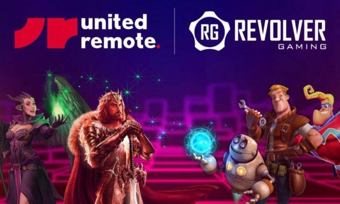 British Online Casino Content Developer Revolver Gaming Partnering with United Remote