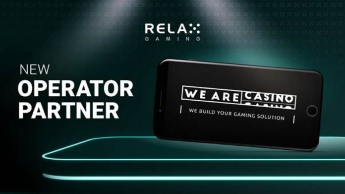 Relax Gaming Expands Its Network of Business Partners with Another Content Integration Deal with WeAreCasino