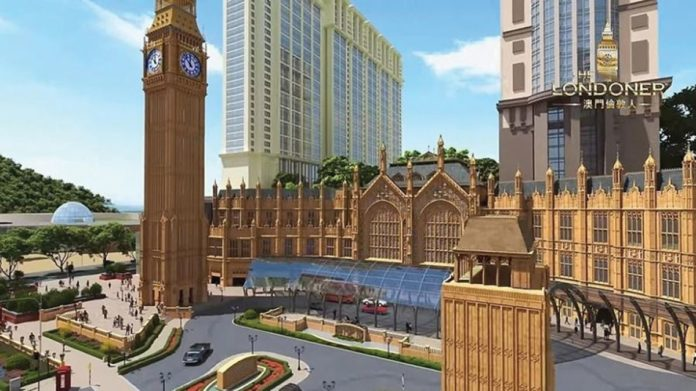 Sands China Limited's The Londoner Macao Expected to be Finished by the End of September