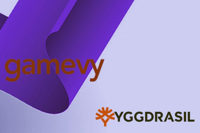 Gamevy Becomes Member of Yggdrasil Gaming's Masters Program