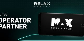 Relax Gaming Expands Its Network of Partners Signing Business Deal with Max Entertainment